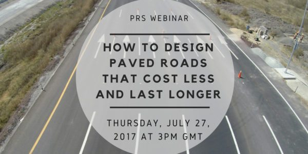 Paved road webinar 32