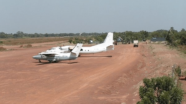 UNOPS unpaved airfield Sudan